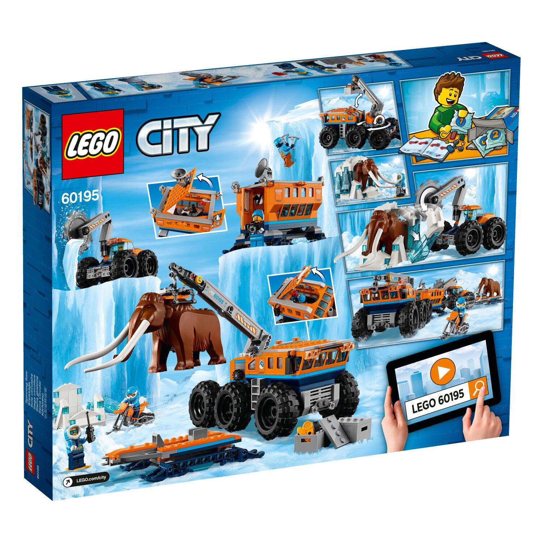 Lego City Arctique Mobile Arctique Forschungsstation - 60195