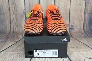 65609752ea2 Adidas Nemeziz 17.4 Fxg J Soccer Cleats Pyro Storm Orange Black ...
