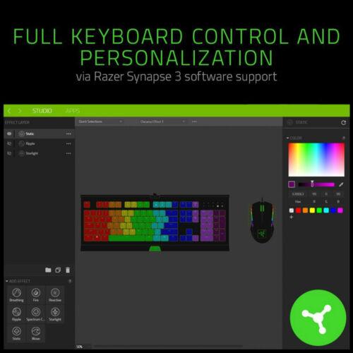 Razer Cynosa Chroma RGB Gaming keyboard Spill-Resistant Durable Design
