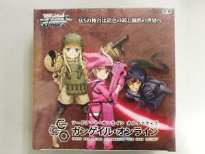 6b1f09aa9edec6 Weiss Schwarz Sword Art Online Alternative Gun Gale Online Booster ...