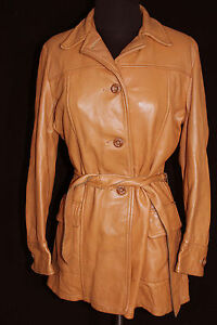 VINTAGE-EARLY-1960-039-S-QUALITY-034-MID-WESTERN-034-BROWN-DEERSKIN-JACKET-SIZE-36