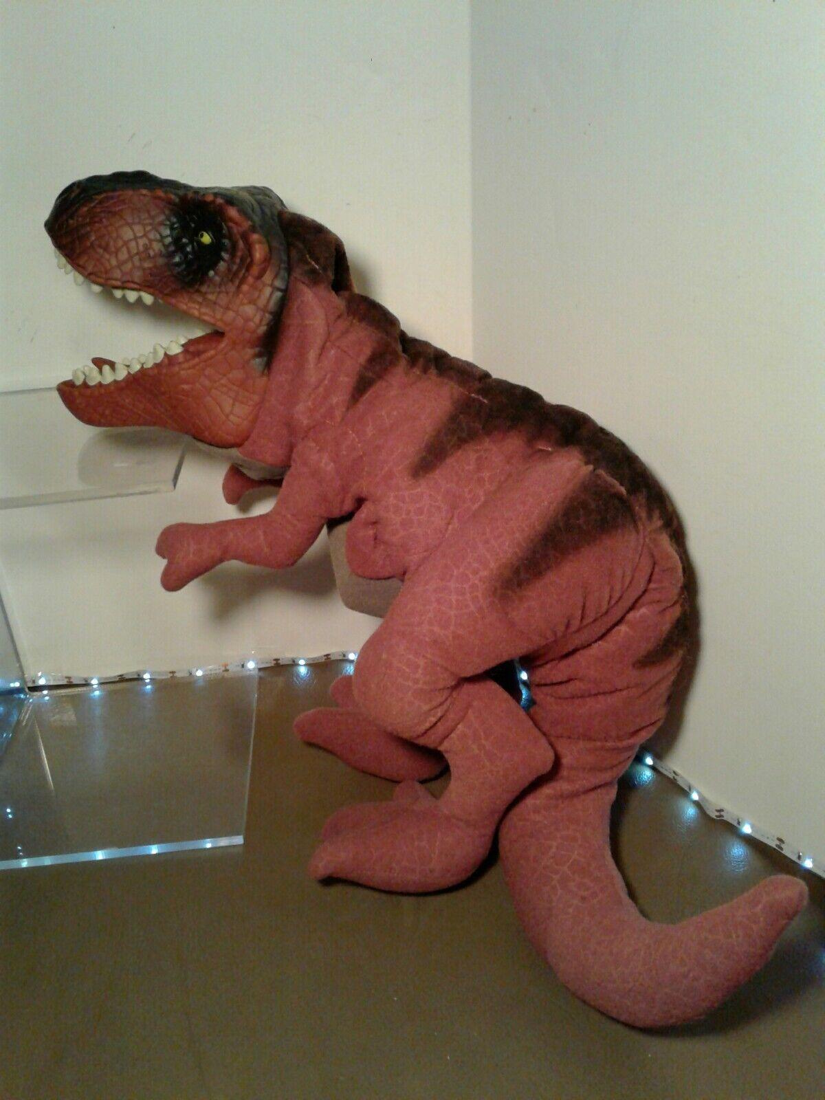 Jurassic park der verlorenen welt t - rex - dinosaurier ganzkörper - hand marionette hasbro 1996