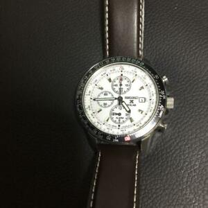 Seiko-Chronograph-Chronograph-Date-Solar-Mens-Watch-Authentic-Working