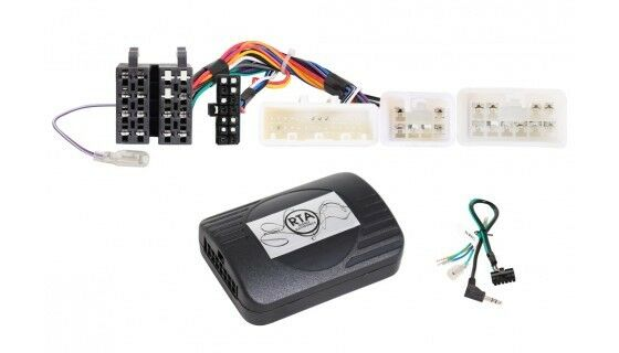 For Toyota RAV4 3+4 CA30W XA40 Car Radio Adapter Steering Wheel Plug