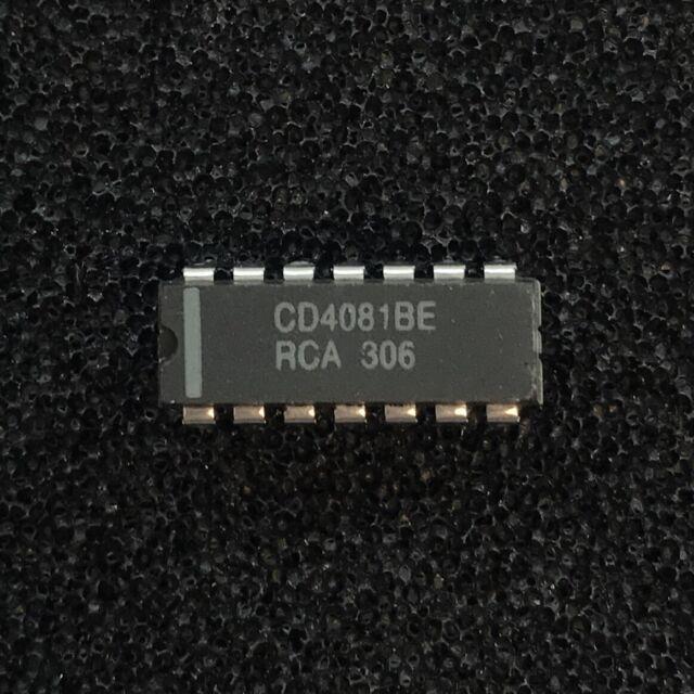 10 x CD4012BE CD4012 4012 DUAL 4-Input NAND GATE IC