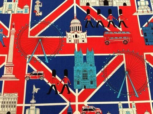 6327-10 Ebor patchwork tissu-britain /'s best-london icon