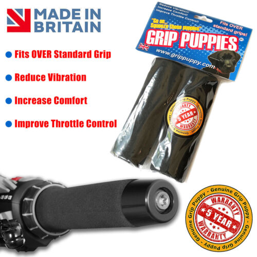 Triumph Street Triple Grip Covers foam comfort handlebar grips best on market