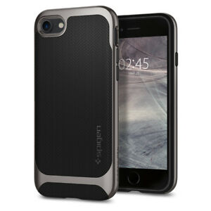 For-iPhone-8-7-I-Spigen-Neo-Hybrid-Herringbone-Protective-Bumper-Cover-Case