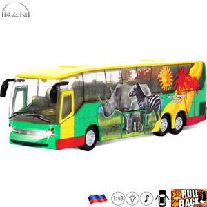 Details about Diecast Vehicles Scale 1:48 MAN Lion's Coach Safari Russian  Bus Model