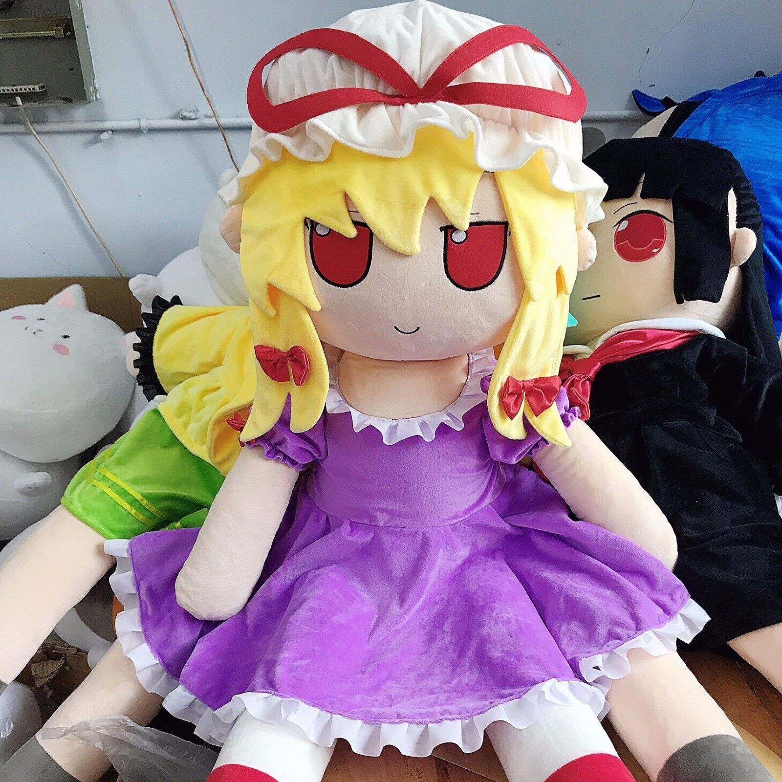 Large Touhou Project Yakumo Yukari Stuffed Doll Throw Pillow Plush Toy 47 Inch