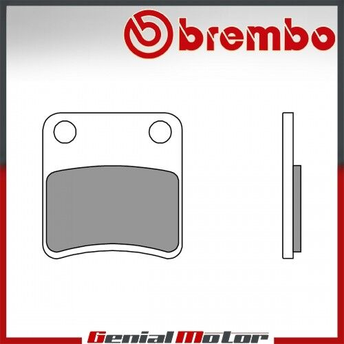 PARKING BRAKE 800 2009 /> 2011 Plaquettes Brembo Frein Arriere CC Gilera GP800