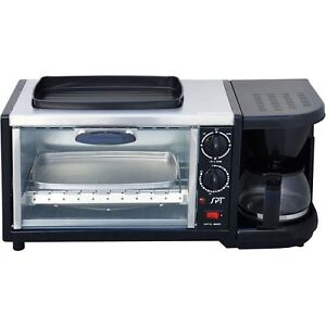 TOASTER-OVEN-COFFEE-MACHINE-FRY-PAN-ALL-IN-ONE-KITCHEN-APPLIANCE-SPACE ...