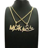 Lace Up & Mgk Chain Set.