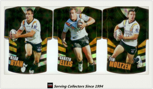2009 Select NRL Classic Holofoil Jersey Die Cut Card m Set Tigers 6