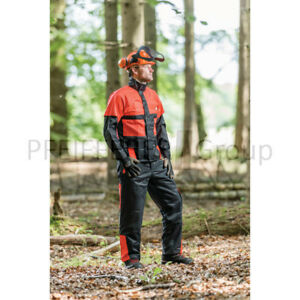 Forestier Veste Forest Jack Kwf-standard Taille S-xxl Waldjacke Noir-orange-afficher Le Titre D'origine Cfumnfg3-07221729-326142196
