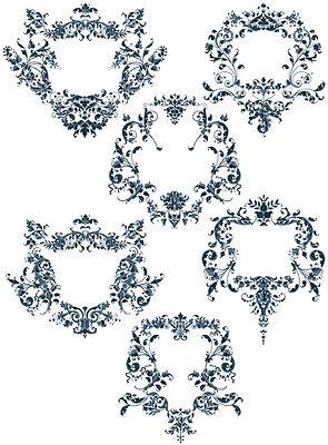 "ABC Designs Blossoms Font Machine Embroidery Designs Set 5/""x7/"" Hoop"