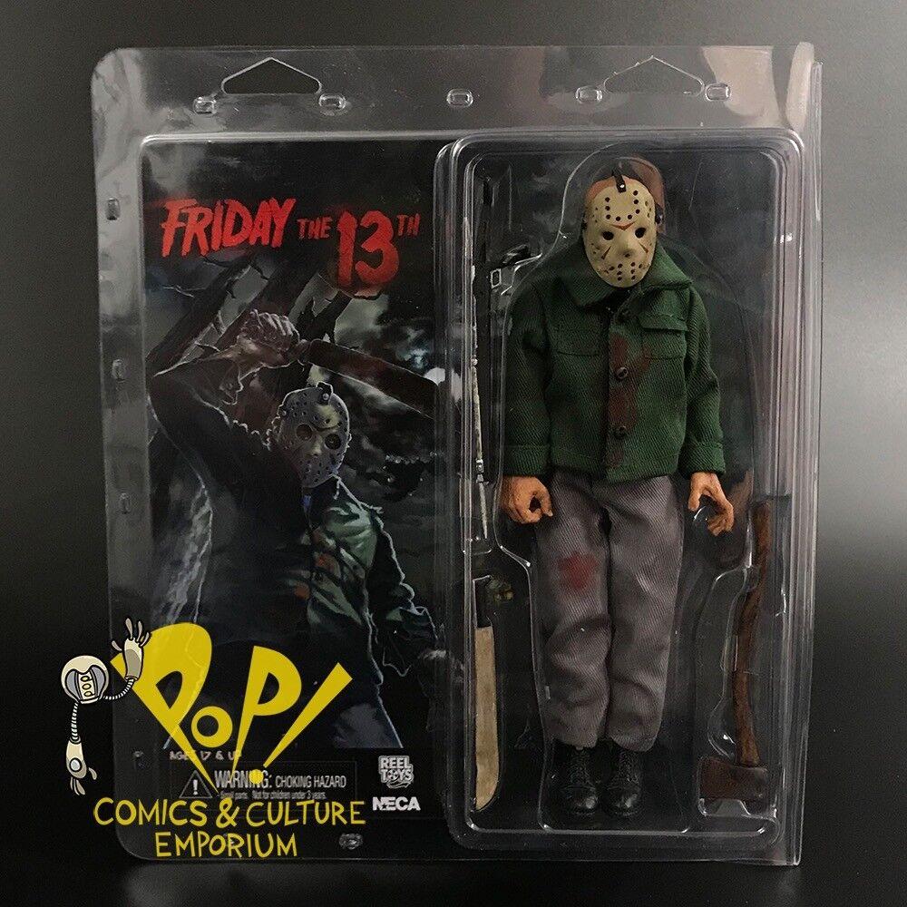 Friday the 13th III Jason Voorhees 8  retro clothed Original Figurine NECA