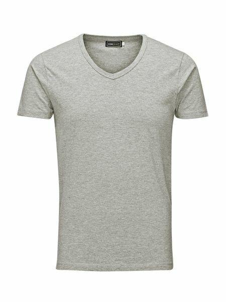 Grey V-Neck