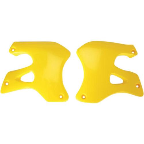 UFO Radiator Cover Yellow Tank Spoiler Suzuki RM 125 250 96-98