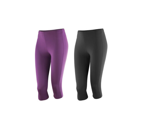 Spiro Womens Impact Softex ® Capri Pants Pantaloni Capri