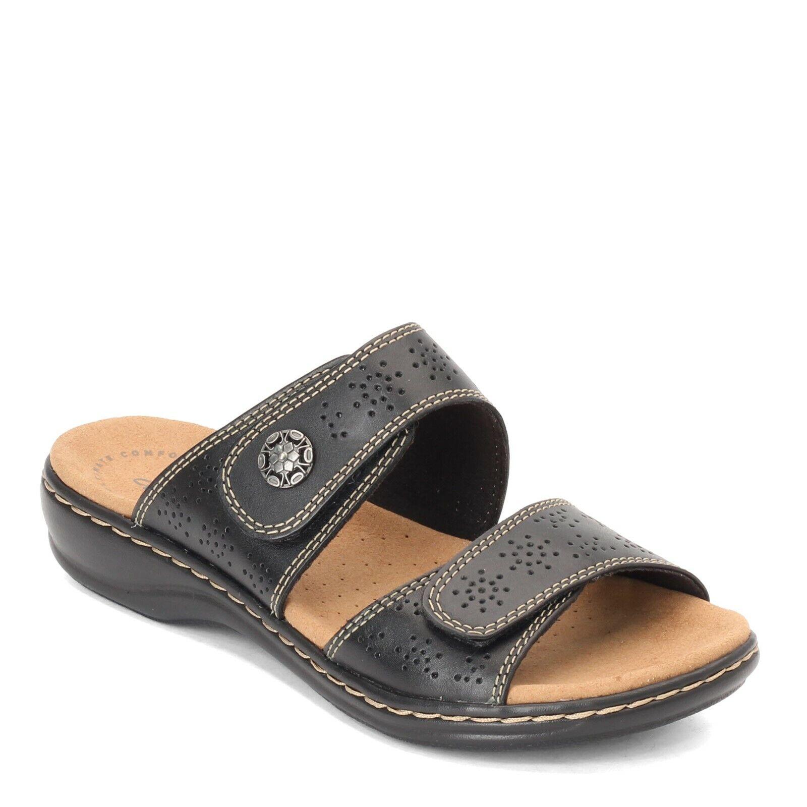 Clarks, Leisa Lacole Slide Sandals
