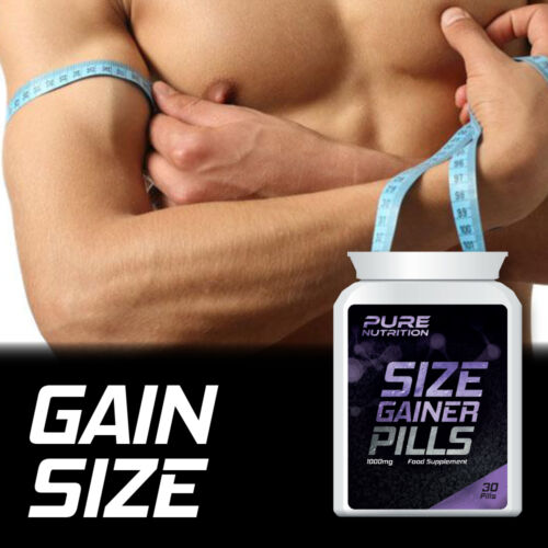 PURE NUTRITION SIZE GAINER S – GAIN SIZE TABLET WEIGHT INCREASE MUSCLES
