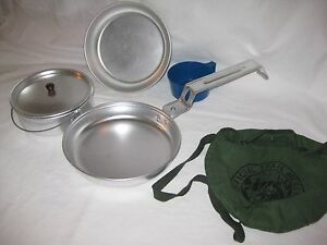 Official Trail Mess Kit Camping Backpacking Cooking Ebay