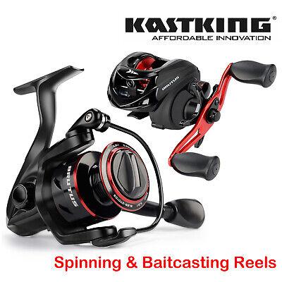 KastKing Brutus 2000-5000 Spinning Reel /& 6.3:1 Baitcasting Reel Freshwater Reel