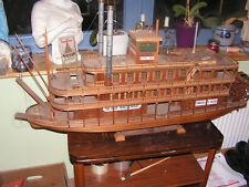 Holzschiff/Dampfer/Modellbau
