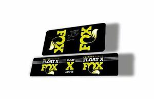 FOX Float 2015-16 CTD Rear Shock Suspension Factory Decal Sticker Green