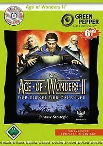 Age-of-Wonders-2-GreenPepper-de-ak-tronic-Jeu-video-etat-bon