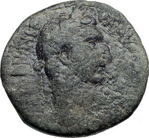 Casco 97AD Genuinos Auténticos Roma Antigua Moneda Provincial de Antioquía i43609