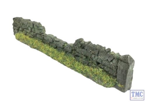 PW1DBDAM Javis OO Gauge Roadside Damaged Dry Stone Walling Dark Brown