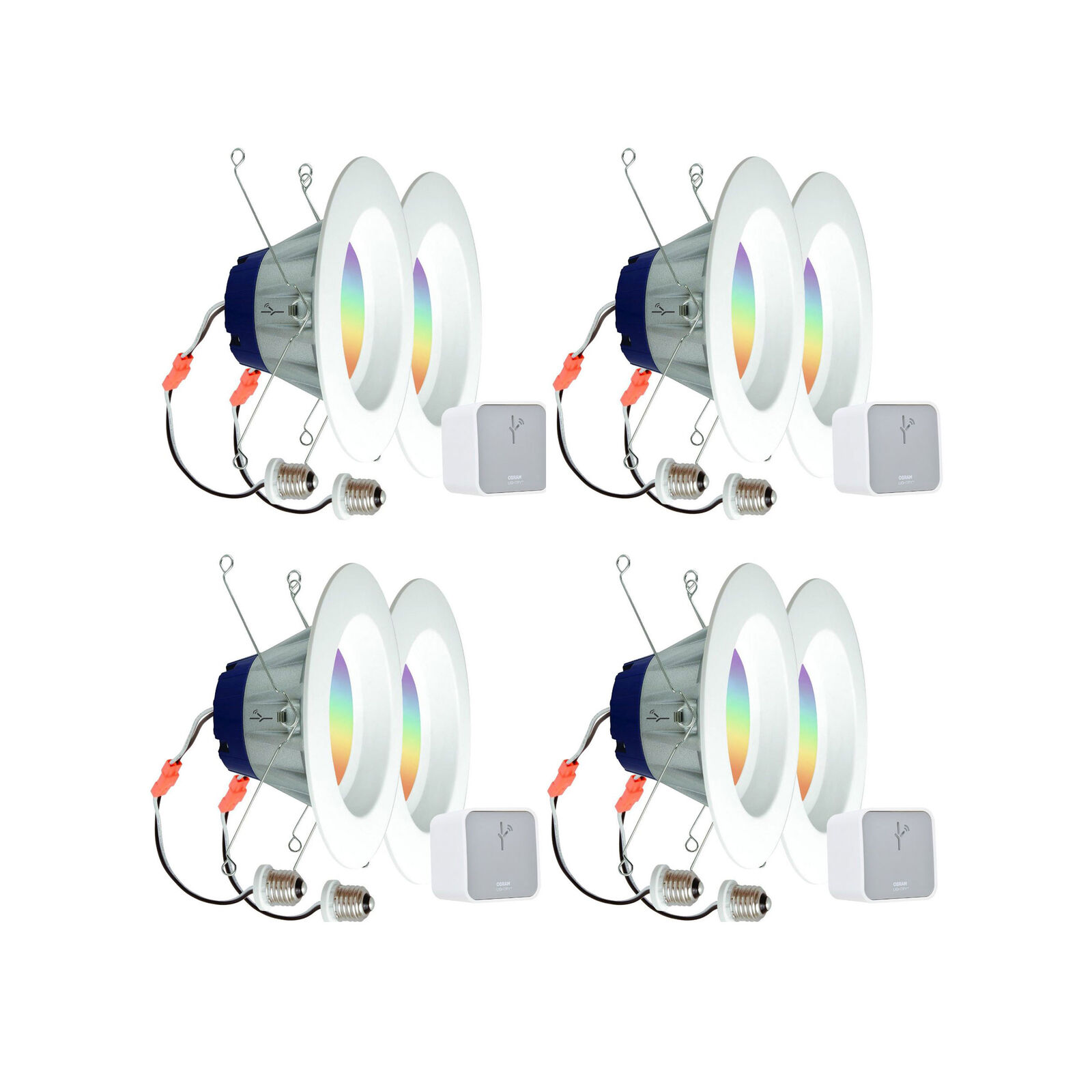 Sylvania Lightify por Osram Smart Home Starter Kit con 2 Luces Led (4 Pack)