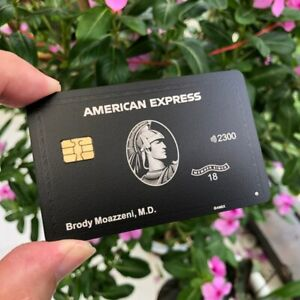 American-Express-Black-Centurion-Metal-Card-Customize-Personality