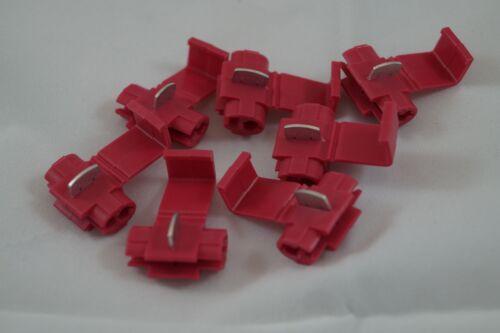 Linea di distribuzione taglio morsetto Derivazione morsetto 0,5-1,0 mm² rosso a partire da 10 pezzi