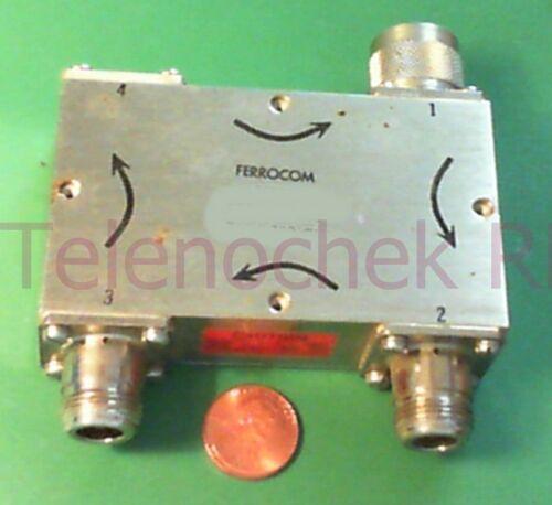 RF microwave multi junction circulator 1974 MHz CF//  865 MHz BW// 100 Watt// data