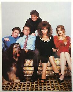 Vintage-Married-With-Children-Official-Studio-Photo-Postcard-5-5x7-034-80s-90s