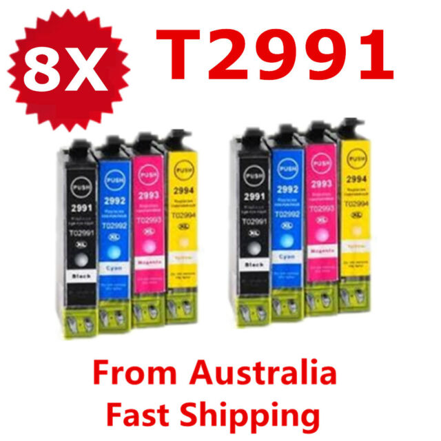 8X Generic 29XL T29XL T2991 Ink Cartridge For Epson XP 235 332 335 432 435 245