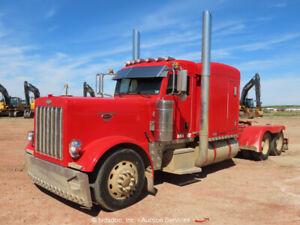 2005 Peterbilt 379 T/A Sleeper Truck Tractor Semi CAT C15 475 HP bidadoo