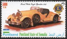 1927 Kissel White Eagle Speedster Car Automobile Stamp