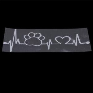 Animal-Footprint-Electrocardiog-Image-Car-Decal-Vinyl-Sticker-Wall-Decor-G