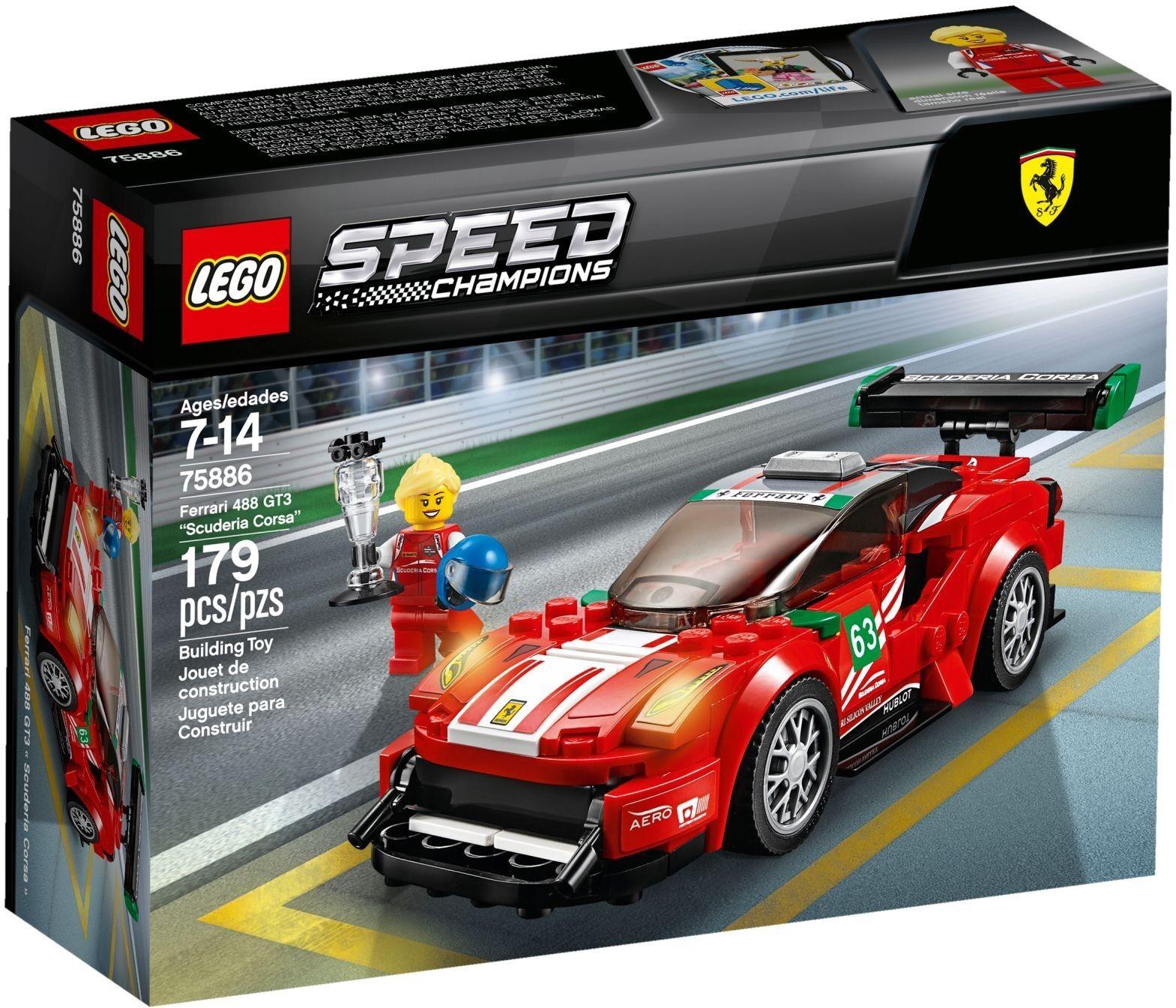 Lego 75886 - Speed Champions - Ferrari 488 GT3 Scuderia Corsa - Sealed - New 1