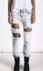 One-Teaspoon-Awesome-Baggies-Jeans-Size-24