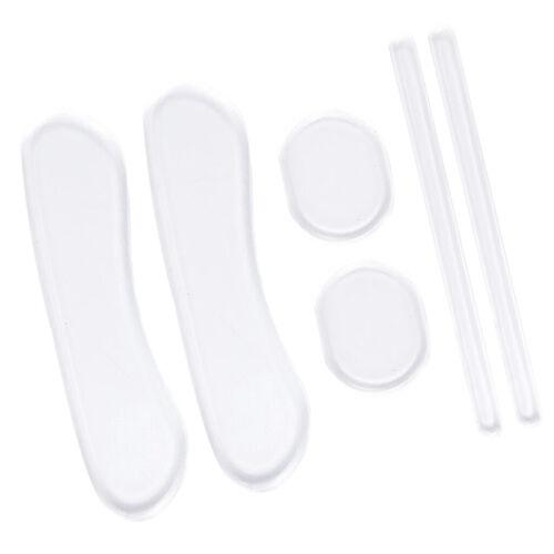 3 Pairs Silikon Ferse Schuh Pads Einsätze Einlegesohlen Liner 1 Satz