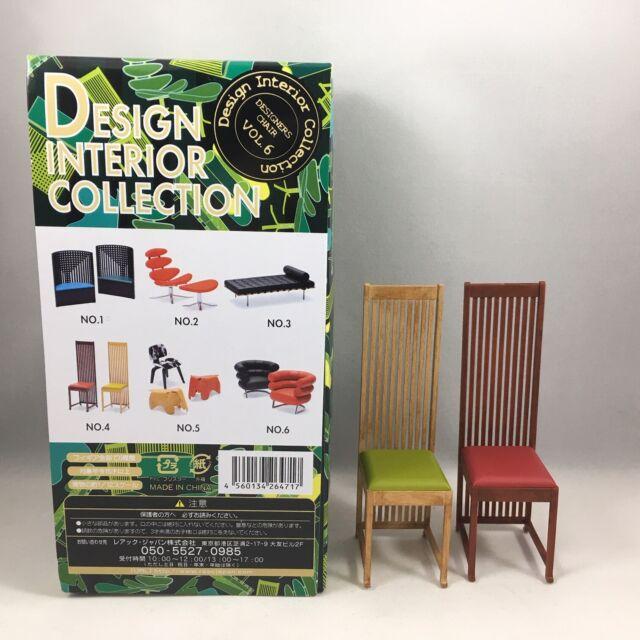 reac JAPAN Design Interior Collection 1//12 Designers Chair CP02 No.4
