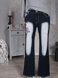 CRAZY-AGE-XXL-Jeanshose-42-44-46-48-50-Damen-Hose-Jeans-Hosen-Stickerei-Neu-029