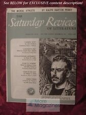 SATURDAY REVIEW December 30 1944 JOHN STEINBECK RALPH BARTON PERRY