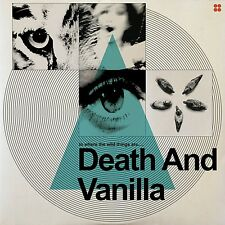 DEATH AND VANILLA - TO WHERE THE WILD THINGS ARE (BLUE  VINYL LP NEU