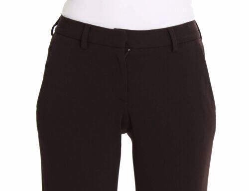 Scervino Pants Us26 Ermanno S It40 Pantalon Nwt extensible Brown décontracté HqaRZ5